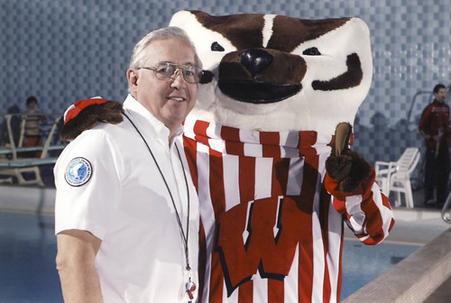 Art Luetke - 40 years Officiating Big 10 NCAA Swimming