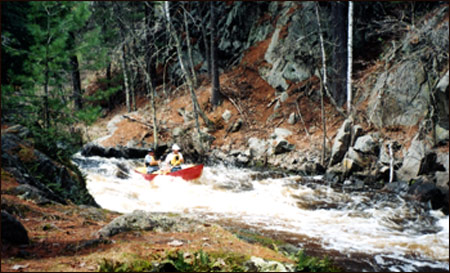 Art Luetke -  Whitewater Canoeing